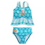 ชุดว่ายน้ำเด็ก ทูพีช เอลซ่า Elsa Deluxe Swimsuit for Girls