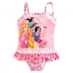 ชุดว่ายน้ำเด็ก ทูพีช ดีสนีย์ ปริ้นเซส Disney Princess Deluxe Swimsuit for Girls