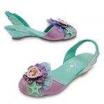 รองเท้าคัชชูเด็ก แอเรียล Ariel Costume Shoes for Kids