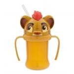 ถ้วยหัดดื่มพร้อมหลอดสำหรับเด็ก ไคออน - ไลอ้อน การ์ด Kion Cup with Straw for Kids - The Lion Guard
