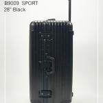 กระเป๋าเดินทางรุ่นใหม่ 28 นิ้ว ทรงSport รุ่นB9009 โครงอลูมิเนียม วัสดุ ABS+PC