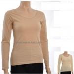 เสื้อลองจอนแขนยาวหญิง รุ่นบุผ้าดีระดับสูง (เฉพาะตัวเสื้อ) งานเกรดดีเยี่ยม