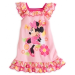 ชุดนอนเด็ก มินนี่เมาส์ คลับเฮาส์ Minnie Mouse Clubhouse Nightshirt for Girls