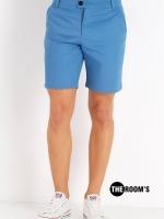 กางเกงขาสั้น สีฟ้าอ่อน