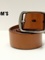 THE ROOM'S เข็มขัดหนัง Genuine leather (Light brown)