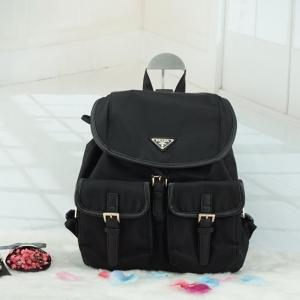 PRADA premium gift Nylon Backpack With Pocket