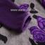 ***ชุดลองจอนหญิง เล่นลายวูลดอกไม้ม่วง*** thumbnail 4