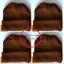 หมวกไหมพรมพระกันหนาว สีกรัก แบบหนา thumbnail 1