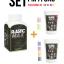 เซ็ตเม็ดพลาสติก แม๊กซ์ (พลาสติกมหัศจรรย์ปั้นได้) ไซส์ M + เม็ดพลาสติกสี 6 สี (CMYK+สีสะท้อนแสง) - SET PLASTIC MAX SIZE : M + CMYK/NEON 6 COLORS - Moldable Plastic for DIY CRAFT ART thumbnail 1
