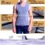 เสื้อลองจอนชาย วูลพรีเมี่ยม (แขนกุด) thumbnail 1