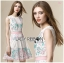 Lady Sweet Embroidered Lace Cocktail Dress thumbnail 1
