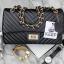 KEEP shoulder chevron chain handbag thumbnail 5