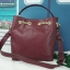 CHARLES & KEITH QUILTED HOBO BAG *สีแดง thumbnail 5