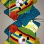 ถุงมือทอไหมพรม บุวูลด้านใน เด็กเล็ก เป็นรุ่นแยกนิ้วมือค่ะ สีสันคัลเลอร์ฟูล งานเกรดพรีเมี่ยม