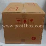 กล่องไปรษณีย์ ฝาชน ขนาด I ขนาด 45x55x40 ซม.