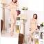 ลองจอนหญิง บุผ้าดีราคาถูก สีครีม thumbnail 7