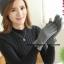 ถุงมือ หนังกลับ แต่งดีเทลที่ข้อมือดูสวยหรู งานนำเข้าเกรดพรีเมี่ยม thumbnail 2