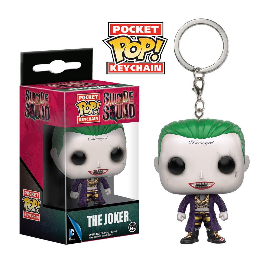 Keychain ~ The Joker ~ DC Comics ~ Funko ~ ~ Suicide Squad ~ Pocket Pop