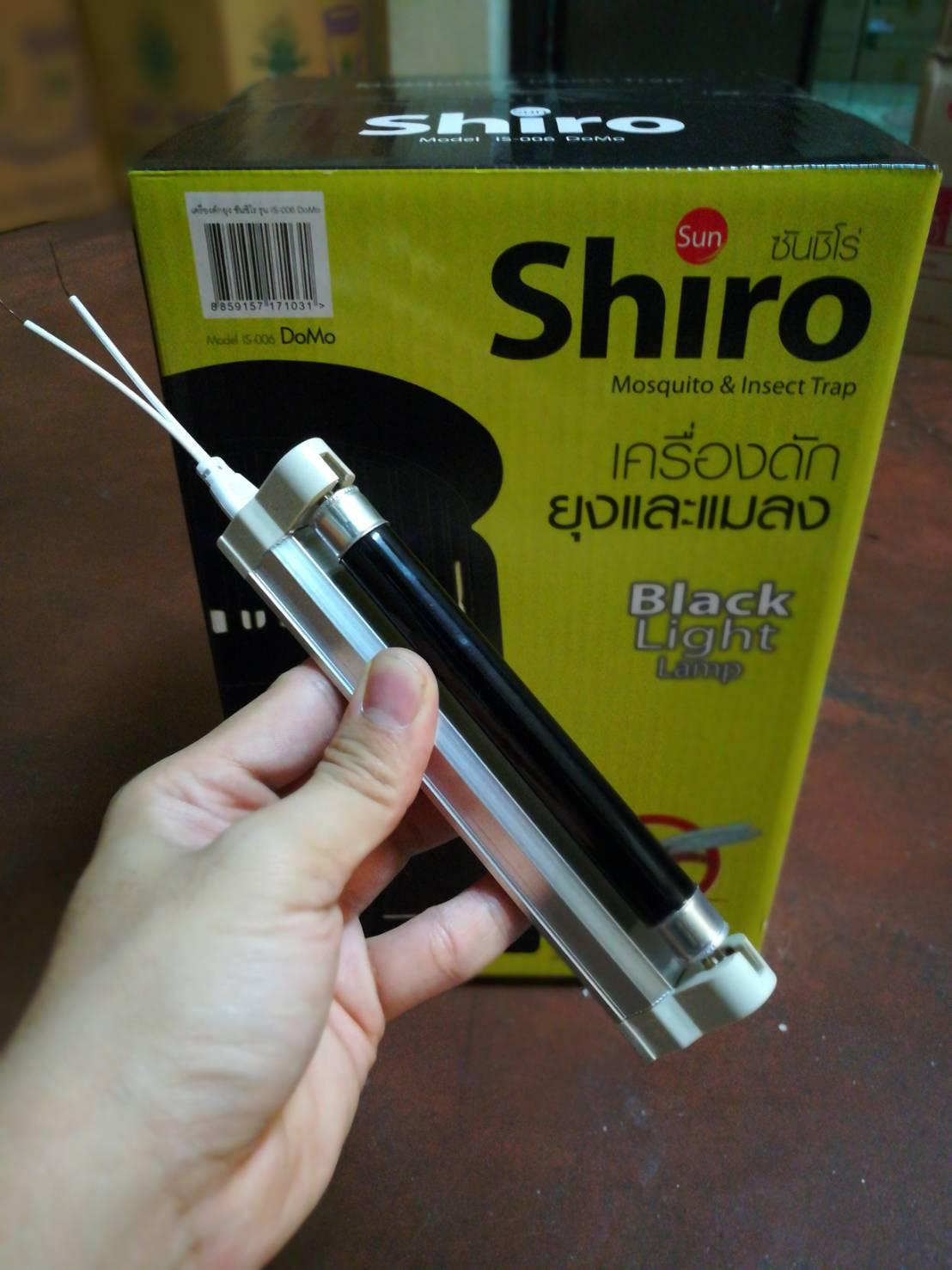 รางนีออน รางหลอดไฟ รางหลอดไฟเครื่องดักยุงซันชิโร่ sunshiro 4 watt พร้อมหลอดไฟดักยุง 4 watt จำนวน 1 หลอด สำหรับผุ้ที่ต้องการนำไปซ๋อมเอง เมื่อประกันขาด