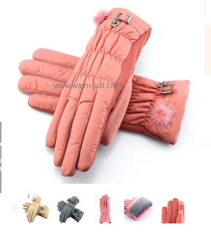 ถุงมือกันหนาว thinsulate+บุวูล ทัชสกีนได้ 2