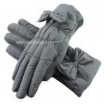 ถุงมือกันหนาว thinsulate+วูลทัชสกรีนได้ แต่งข้อมือ 1