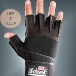 ถุงมือฟิตเนส Schiek สีดำ ไซส์ M