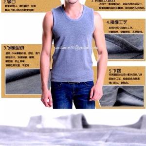 เสื้อลองจอนชาย วูลพรีเมี่ยม (แขนกุด)