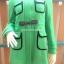 เสื้อโค้ท ผ้าวูลเกรดดี งานนำเข้าเกรดพรีเมี่ยม สีเขียวมิ้นท์ thumbnail 1