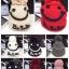 หมวกทอไหมพรมขนกระต่าย ดีเทลตุ๊กตาหน้ายิ้ม แต่งปอมบน thumbnail 1