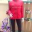 เสื้อโค้ทสีแดง งาน burberry 2 thumbnail 1