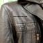 เสื้อโค้ทผ้ากึ่งหนังสีดำด้าน มีฮูด 2 งานเกรดพรีเมี่ยม thumbnail 7