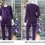 ชุดลองจอนหญิงสีม่วง ลายหัวใจวูล ด้านนอกตัวเสื้อ thumbnail 1