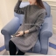 เสื้อกันหนาว เสื้อไหมพรมผู้หญิง ตัวยาวงานเกรดพรีเมี่ยม thumbnail 3