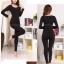 ชุดลองจอนหญิง บุผ้าดีราคาถูกแต่ดี สีดำ (มีภาพสินค้าจริง สังเกตุให้ดี เป็นข้อมูลในการตัดสินใจ ได้ไม่ผิดหวังค่ะ ) thumbnail 1