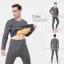 ชุดลองจอนผู้ชาย รุ่นวุลพรีเมี่ยม เสริมผ้าฟรีซเพิ่ม งานสั่งผลิตพิเศษ สีเทา thumbnail 1