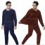 ชุดลองจอนชายบุผ้าดับเบิ้ลวูลพรีเมี่ยมสีกรมท่าเข้มอมดำ thumbnail 1