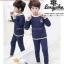 ชุดลองจอนเด็ก รุ่นเนื้อผ้าดับเบิ้ลวูลพรีเมี่ยม thumbnail 3