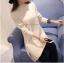 เสื้อกันหนาว เสื้อไหมพรมผู้หญิง ตัวยาวงานเกรดพรีเมี่ยม thumbnail 2