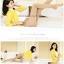 เลคกิ้งเกาหลี เลคกิ้งกันหนาว เลคกิ้งบุขน สีครีม thumbnail 1